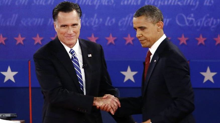 Foreign policy finale, Will Romney pass commander-in-chief test? And Romney swing state surge.