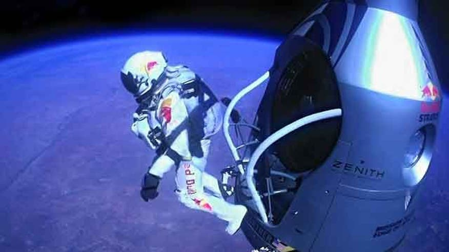 Daredevil describes freefall from edge of space