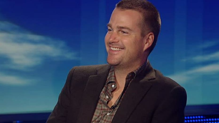 Chris O'Donnell raises awareness about new type of flu shot