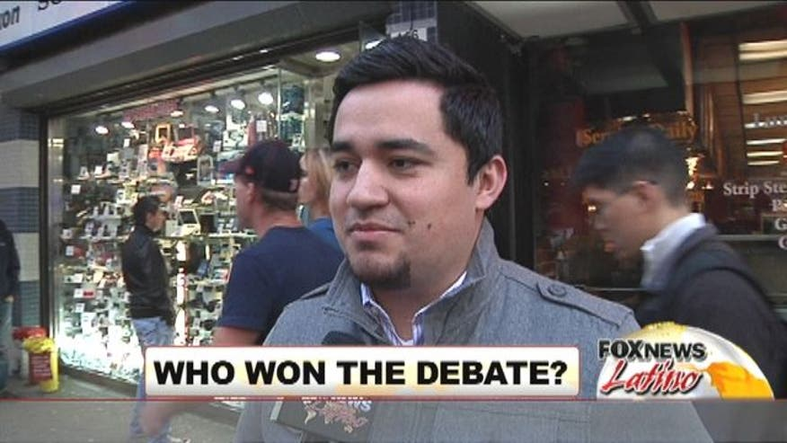 Fox News Latino walked the streets of New York City asking people about last night's debate.