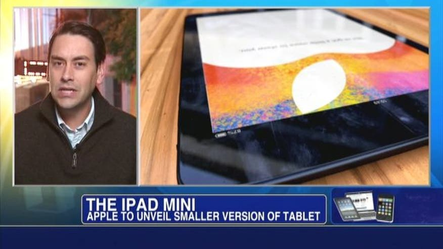 Apple is expected to unveil a mini iPad that will take on less expensive devices offered by Amazon and Google.