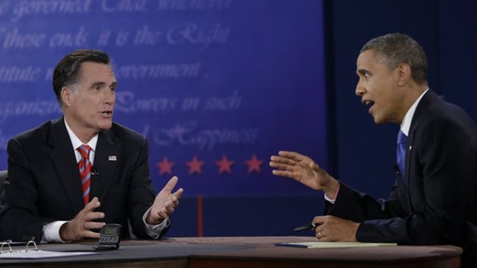 Obama, Romney spar over foreign policy