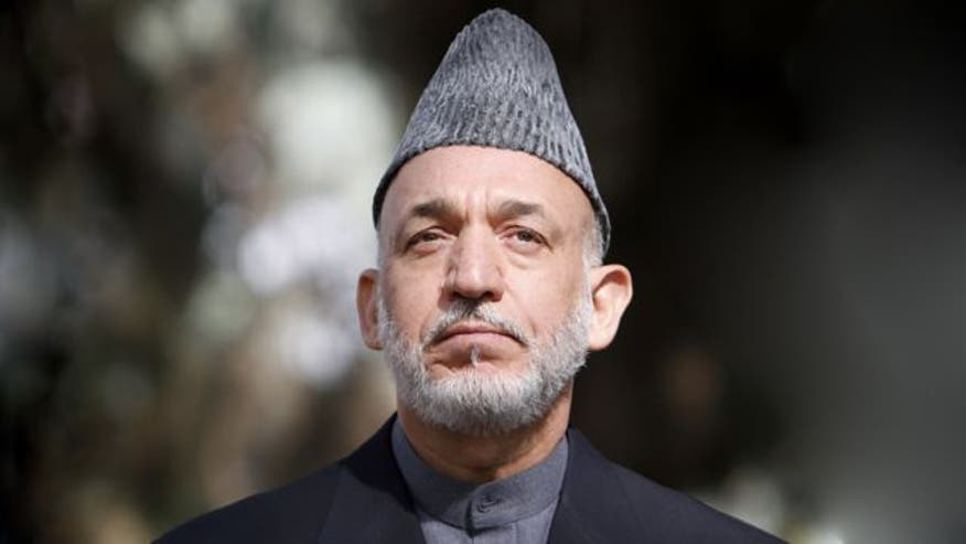 Firestorm follows President Karzai's statement that Afghanistan would side with Pakistan in war against U.S.