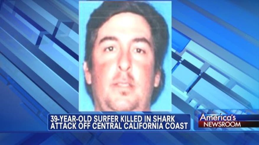 A shark attack at an Air Force base beach has claimed the life of an experienced 39-year-old surfer.