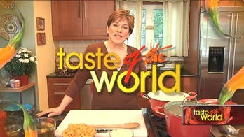Taste of the World with Denisse Oller. Pumpkin - Ginger Creamy Soup