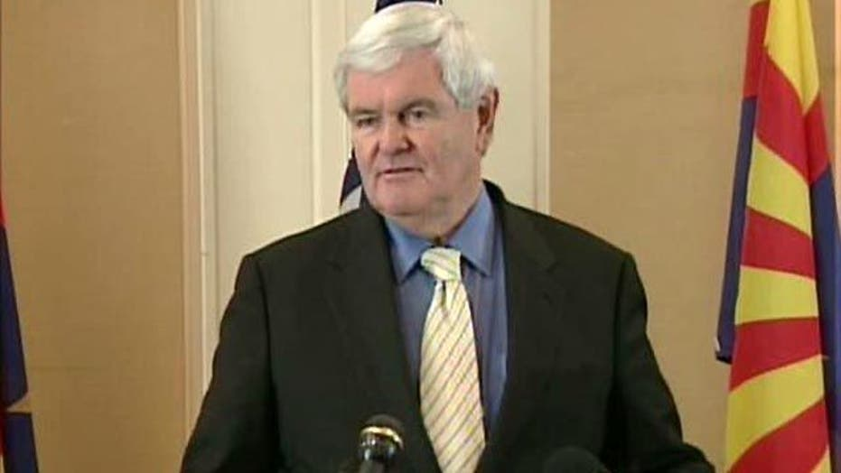 Gingrich: My Opponent Is Barack Obama