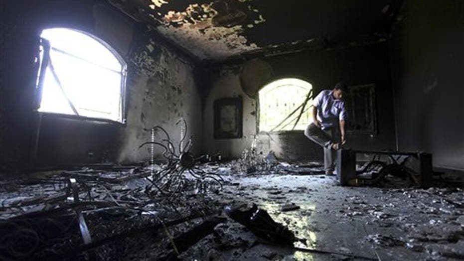 What took the media so long to ask questions on Libya?