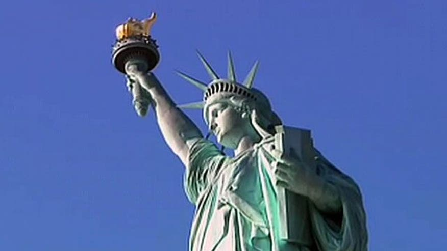 The Statue of Liberty reaches a milestone