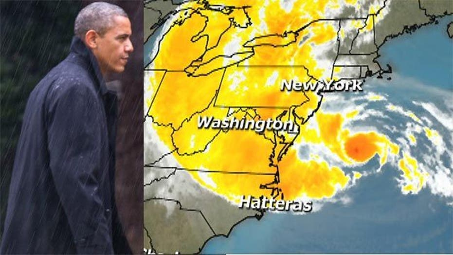 Will Hurricane Sandy impact final push for the White House?