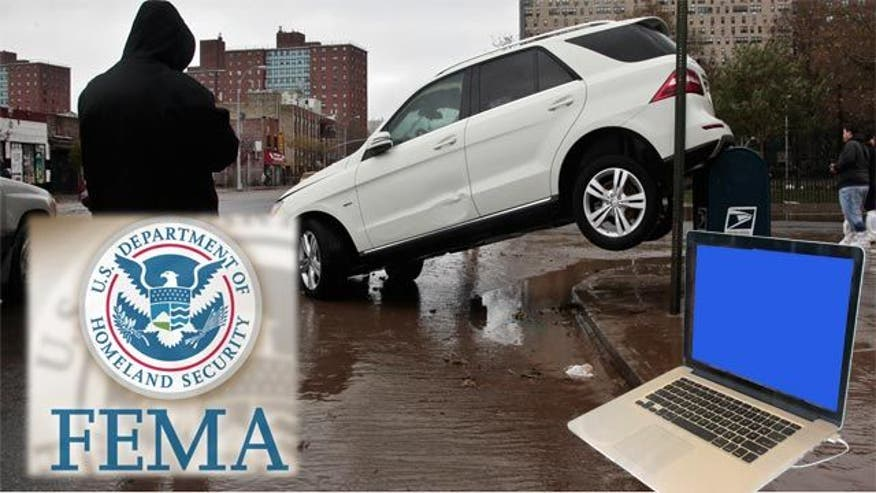 FEMA hopes Sandy victims have power