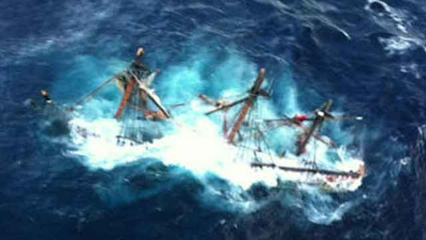 Coast Guard rescue swimmer describes effort to save tall ship's crew