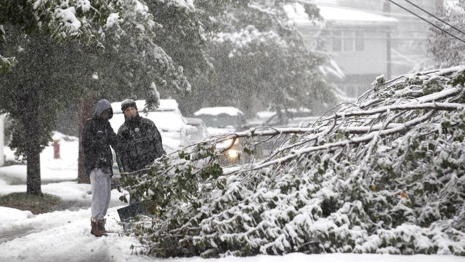Millions in Northeast Without Power After Snowstorm