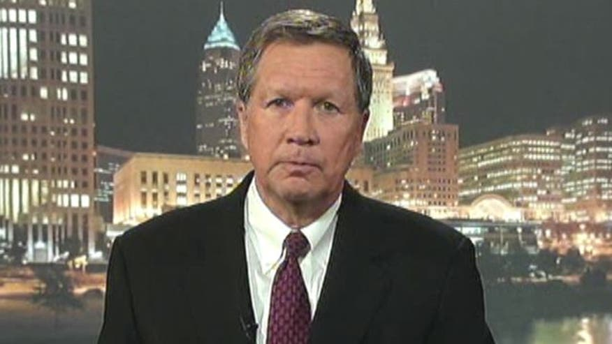 Ohio governor on 2012 race, new polls