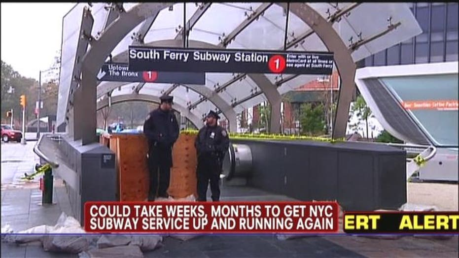 Could Take Weeks Before NYC Subway Service Up