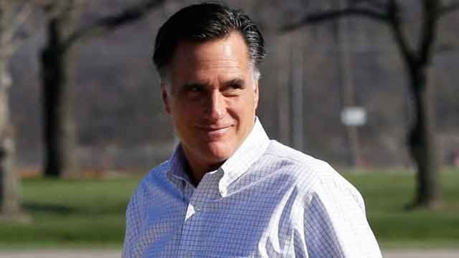 Romney steps up efforts in Democratic-leaning states