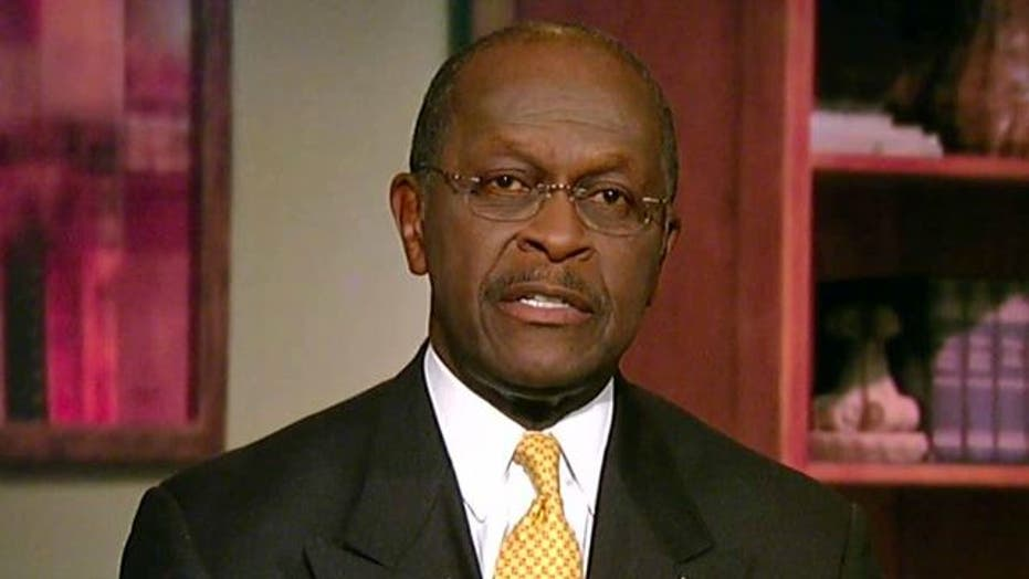 Cain: Harassment Claims Haven't Hurt Campaign