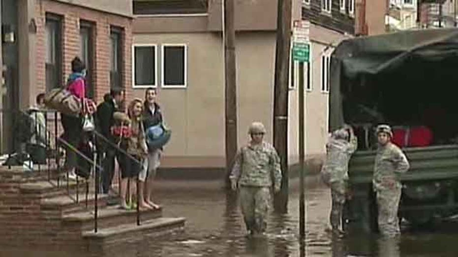 Thousands of New Jersey residents trapped Sandy floodwaters