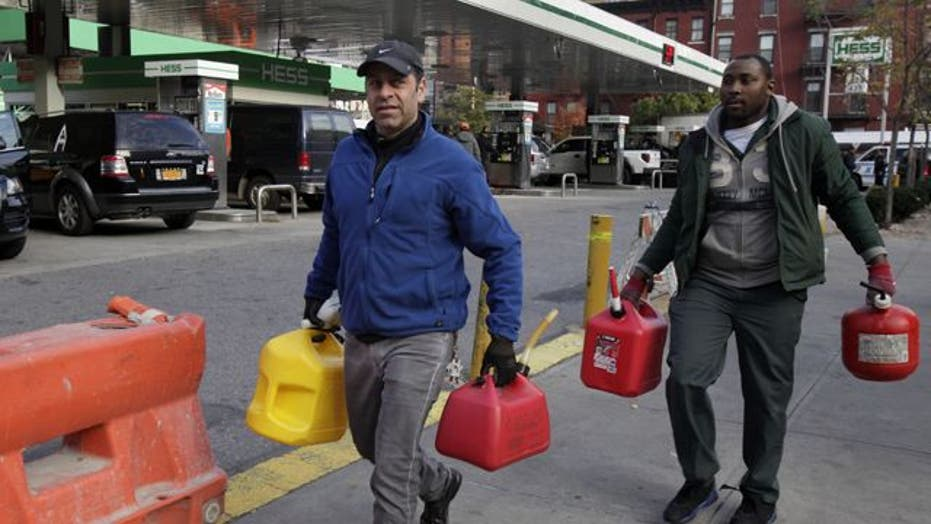 Fuel deliveries resume, but supply chain severely hampered