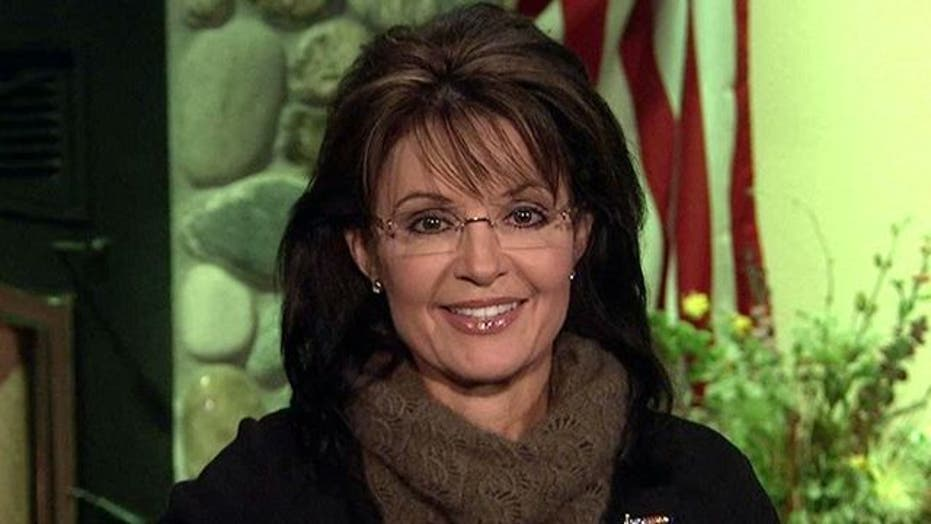 Palin: This Is the time to turn things around