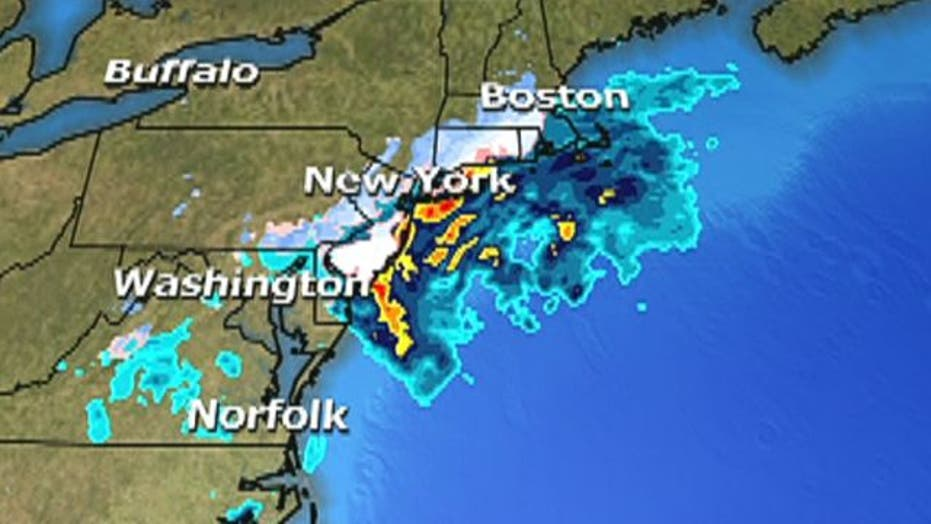 Evacuations, cancelled flights as storm approaches Northeast