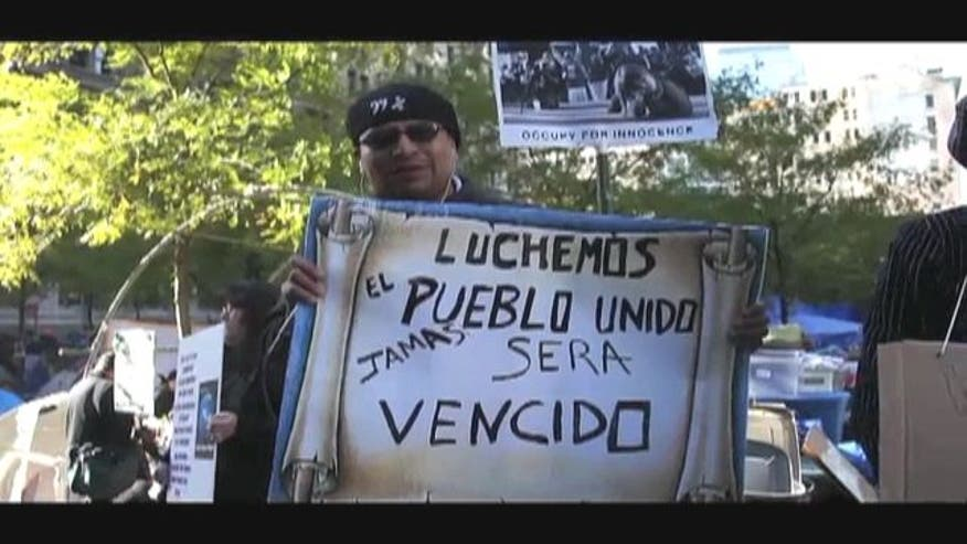 Occupy Wall Street: Step by Step With Latino '99 Percent' March.