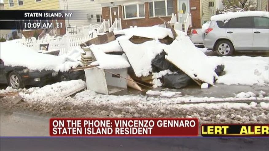 Vincenzo Gennaro believes the federal government has failed Staten Island after being hit with two storms.
