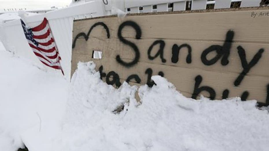 Nor'easter hits region recovering from Sandy