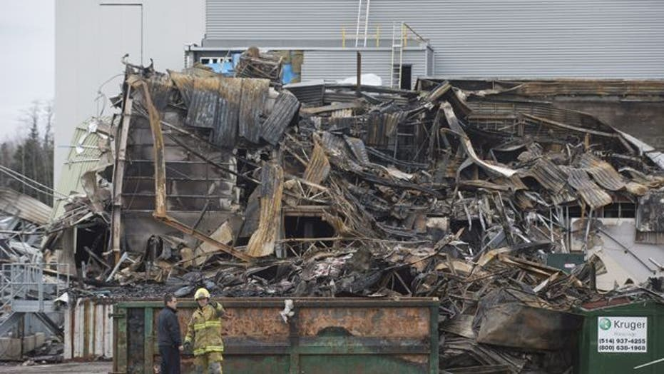 Around the World: Explosion rips through plant in Quebec