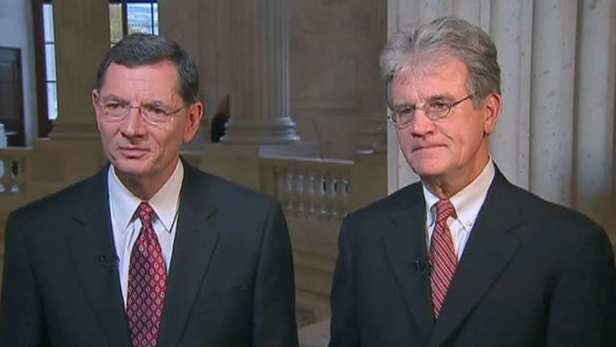 Sens. Tom Coburn and John Barrasso explain the effect of president's health care reform law on Medicare in handbook