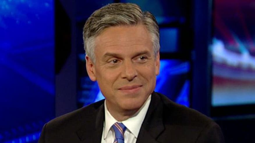 2012 candidate Jon Huntsman and his daughters on their experience