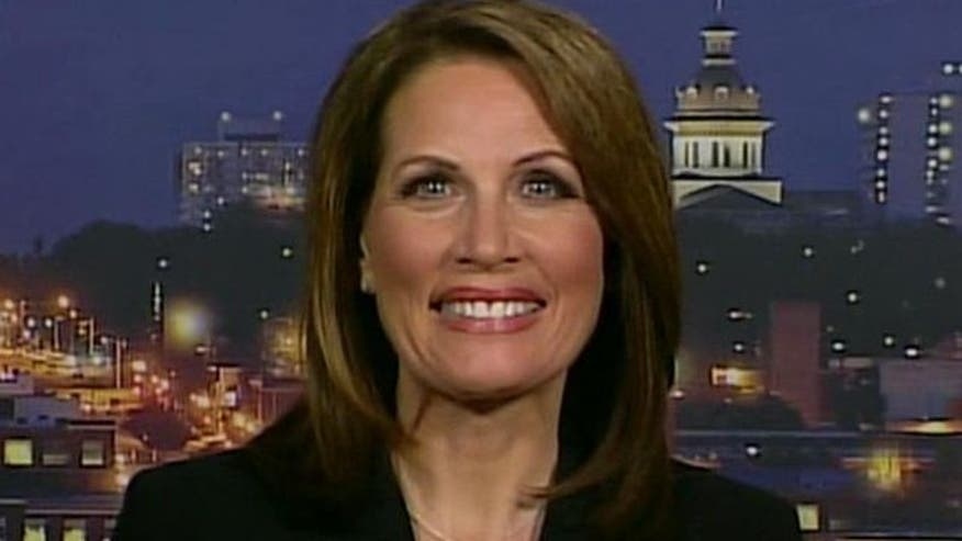 GOP hopeful Michele Bachmann on her competitors