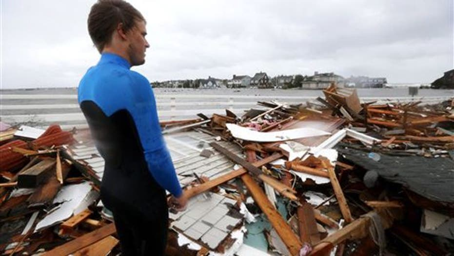 Depression, anxiety following Hurricane Sandy