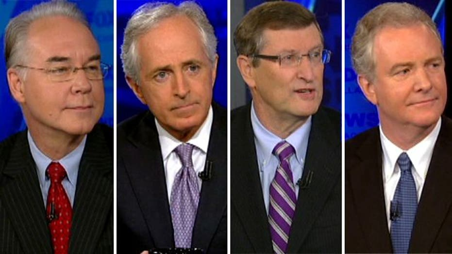 Key lawmakers on 'fiscal cliff' threat