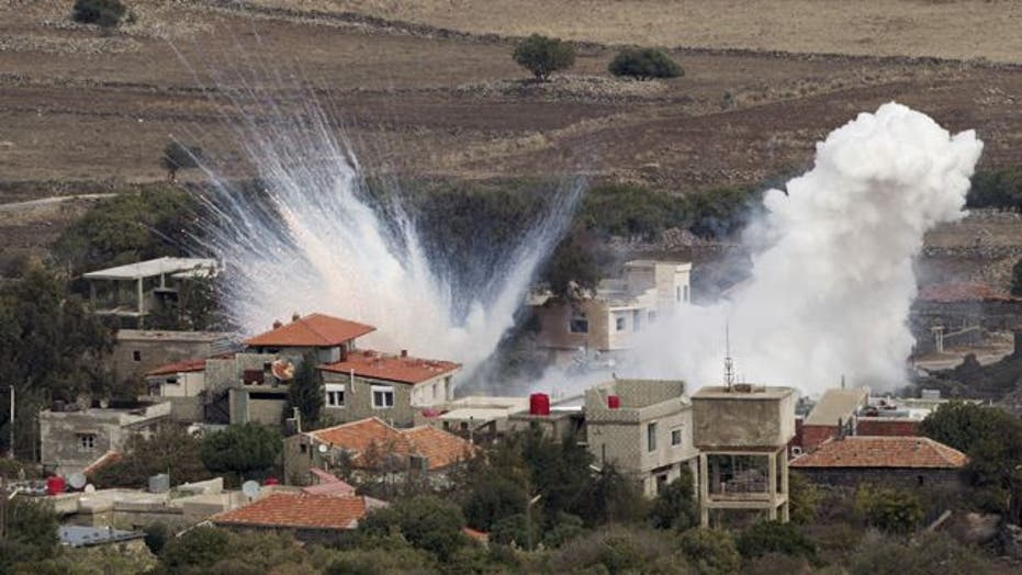 Israel again fires into Syria in response to Golan shelling