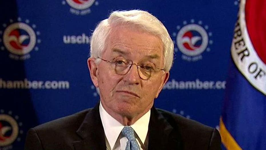 US Chamber CEO: We have to deal with entitlements, taxes