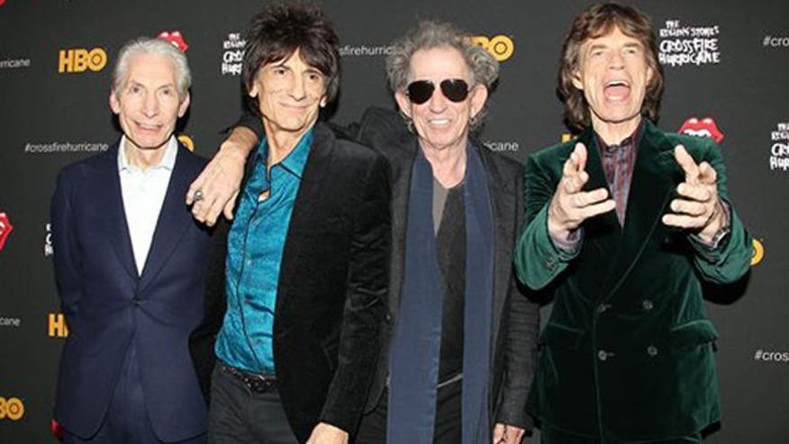 Red carpet rolls out for stones 50th