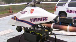 The Montgomery County Sheriff's Office is weeks away from launching an unmanned aerial asset to help deputies fight crime. The ShadowHawk helicopter is six-feet long, weighs fifty pounds and fits in the back of an SUV.