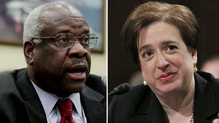 Dissecting the potential conflicts of interest involving Justices Clarence Thomas and Elena Kagan in the showdown over Obama's health care reform law