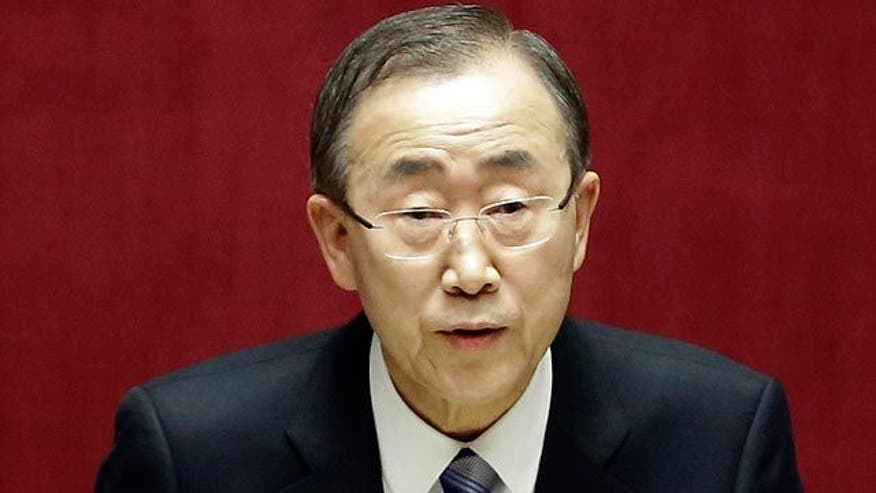 UN chief concerned about Mideast crisis