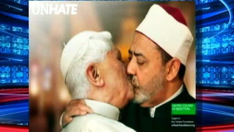 Benetton Ad Shows Pope 'Kissing' Imam