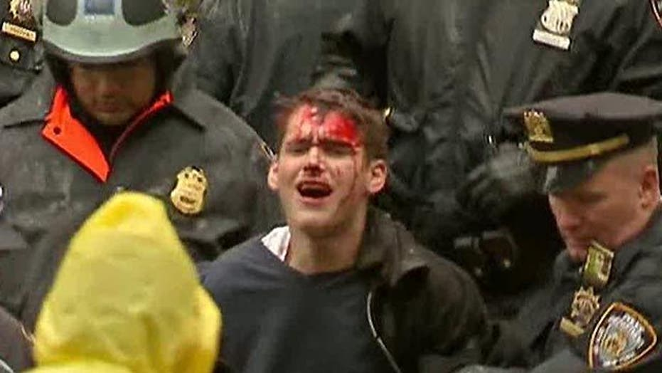 Police and 'Occupy' Protesters Clash in NYC