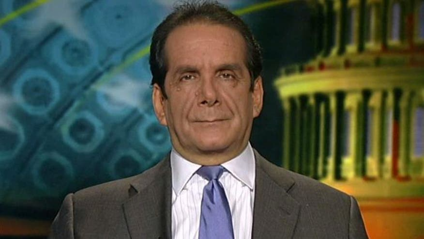 Charles Krauthammer says U.S. interests are a taking back seat