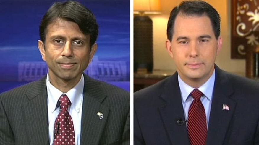 Gov. Jindal, Gov. Walker on GOP future