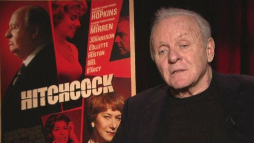 Face2Face: Sir Anthony Hopkins talks transforming into Alfred Hitchcock, collaborating with his wife, painting and composing