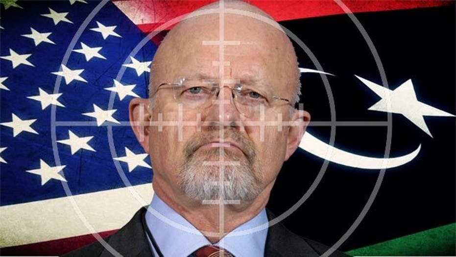 National intelligence director in the crosshairs over Libya
