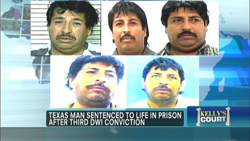 Texas man sentenced to life in prison after third DWI conviction.