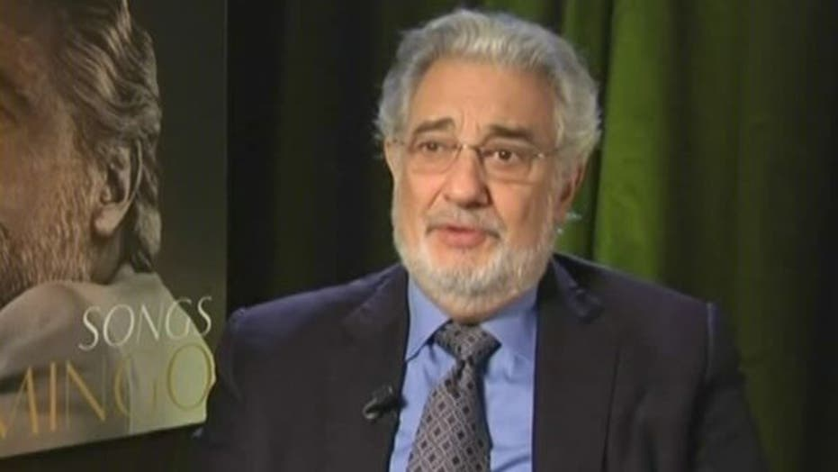 Placido Domingo performs 'Songs' with pop singers