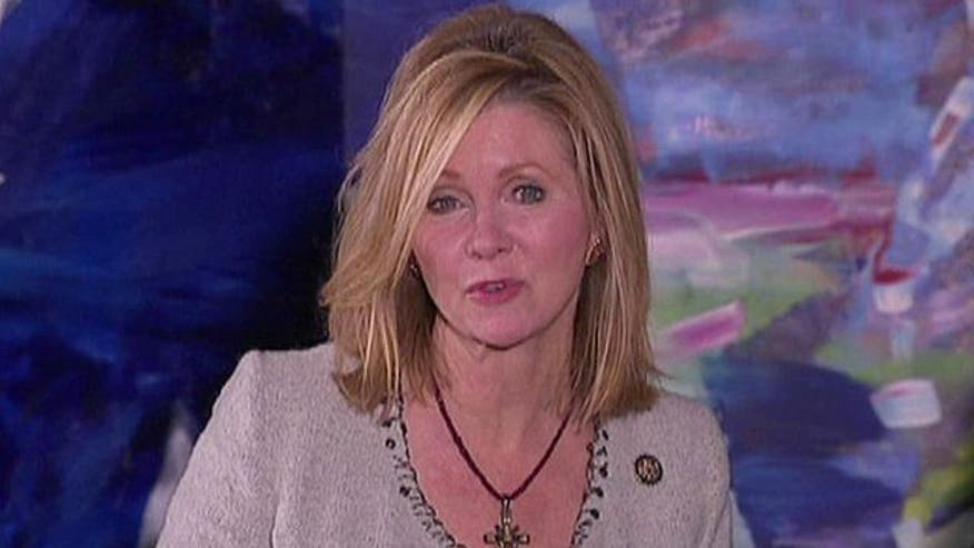 Rep. Marsha Blackburn, focus group discuss