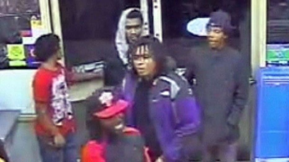 7-Eleven Robbed by Flash Mob in Maryland