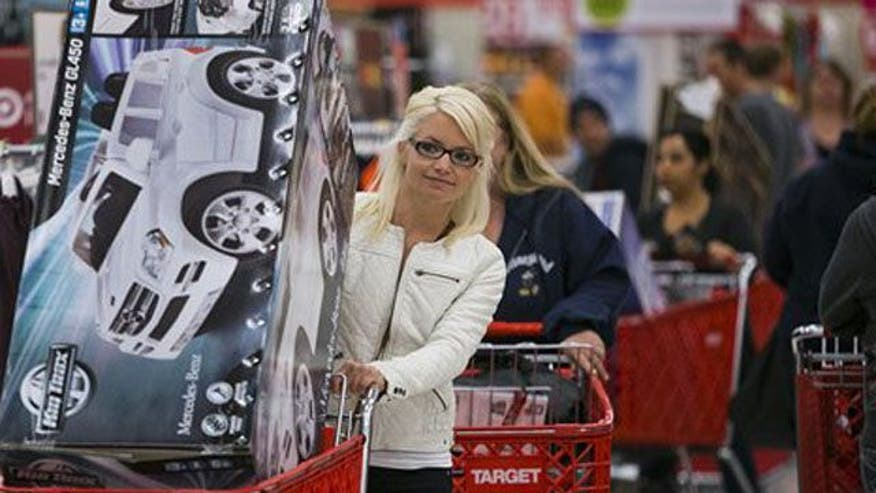 Shoppers and COs spending less as fiscal cliff nears